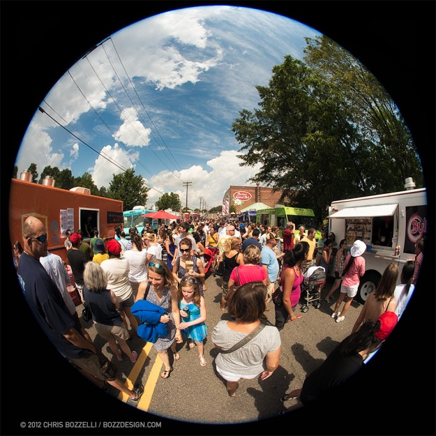 Image of Durham food truck rodeo (2012) - © Chris Bozzelli, RA