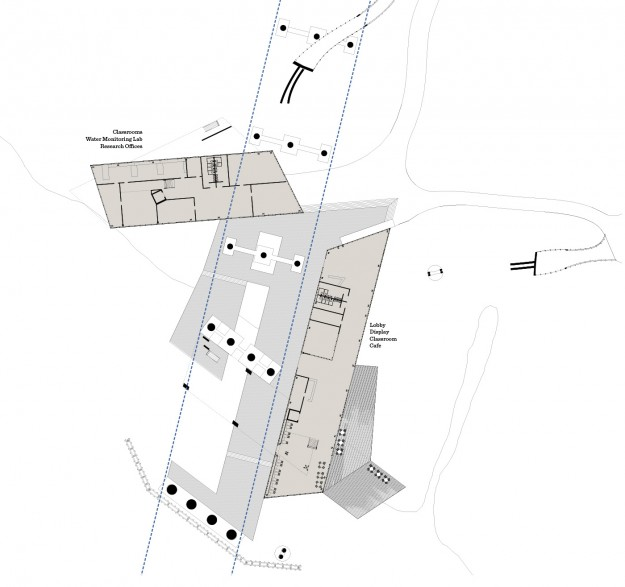 Estuary First Floor Plan - © Chris Bozzelli, RA
