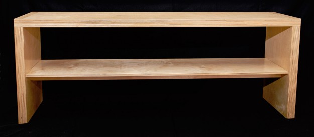 Box Joint Shoe Bench - © Chris Bozzelli, RA
