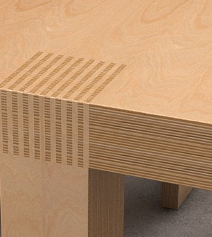 Interknit table © Chris Bozzelli, RA
