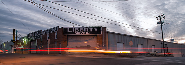 Liberty warehouse © Chris Bozzelli, RA